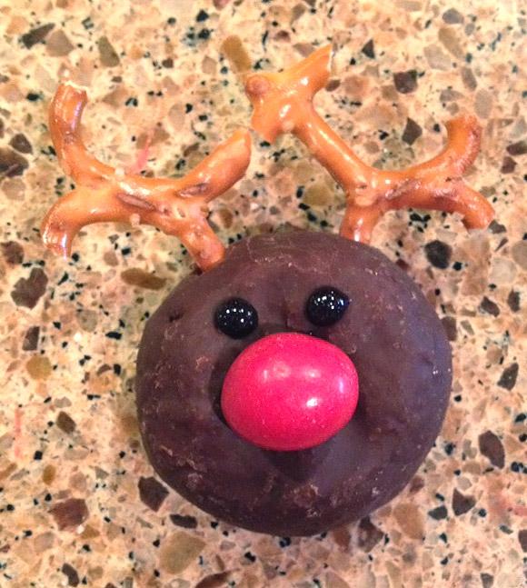 Reindeer Donuts - Ciambella a forma di Renna
