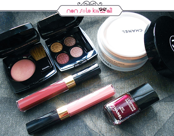 non solo Kawaii - Éclats du Soir de CHANEL, 2012 Christmas Makeup Collection