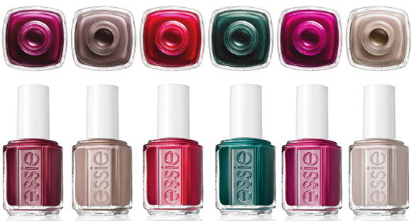 Essie Stylenomics Fall 2012 collection nail polish