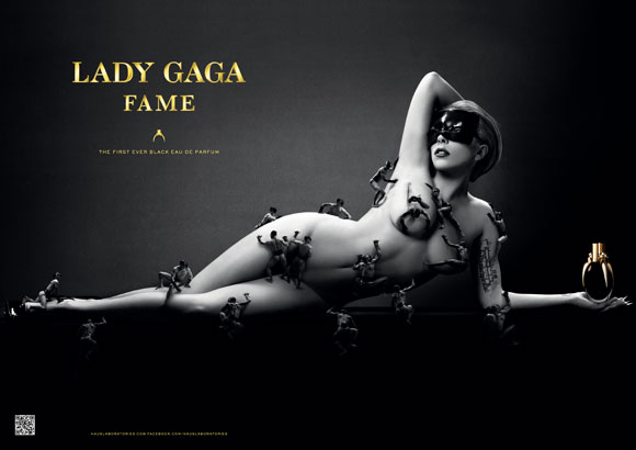 Lady Gaga Fame advertising