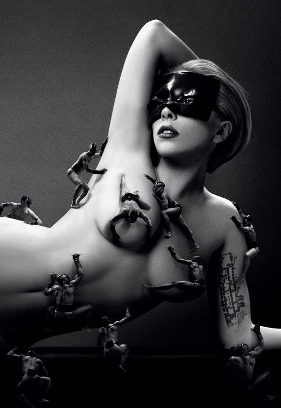 Lady Gaga Fame advertising