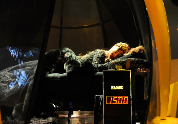 Lady Gaga Fame, Sleeping with Gaga Launch Event at the Guggenheim Museum