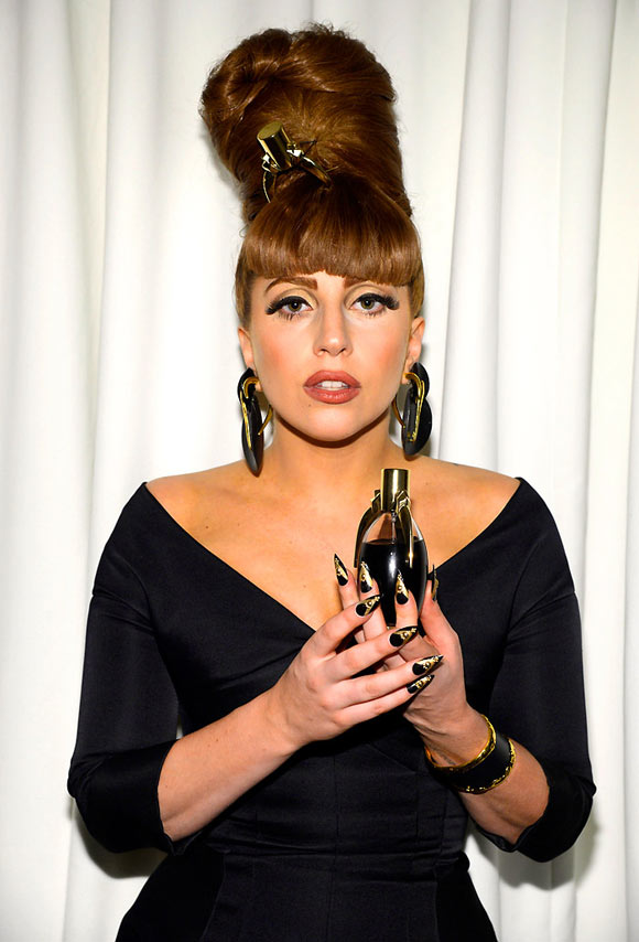 Lady Gaga Fame, launch at Macy's Herald Square