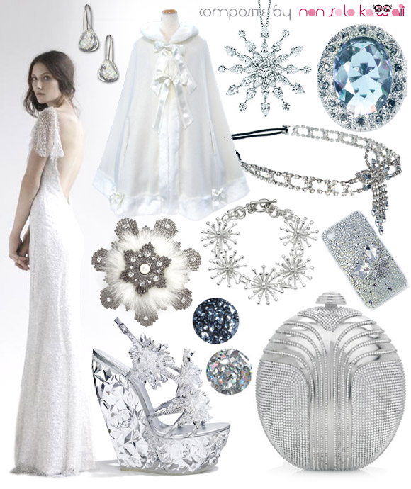 Kawaii Look Snow Queen, la donna delle nevi