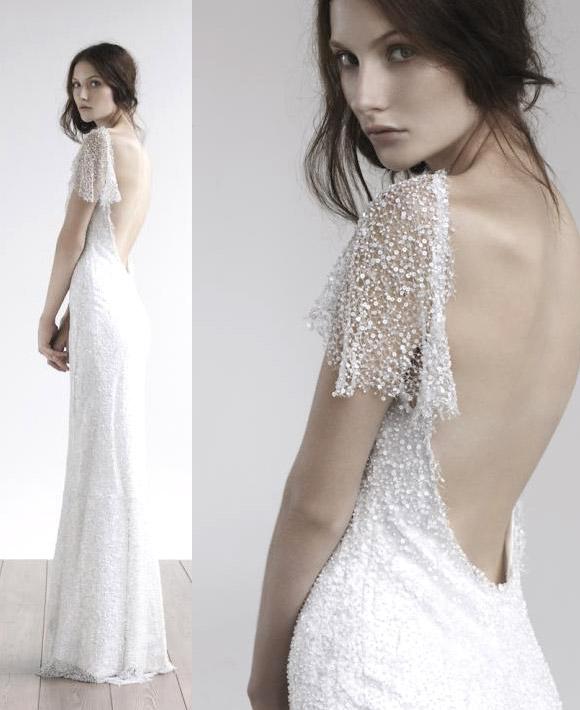 Amanda Garrett - Snowflake gown, abito fiocco di neve