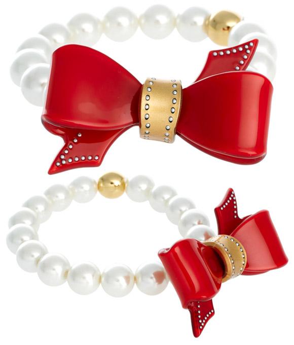 Christmas Pixie: Ted Baker - Scarlett bracelet, bracciale con fiocco rosso