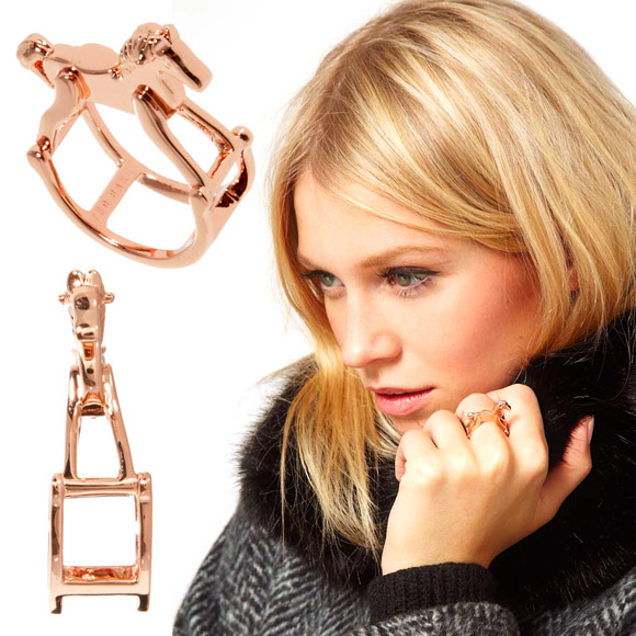 Christmas Pixie: Ted Baker - Rocking Horse ring, anello cavallo a dondolo