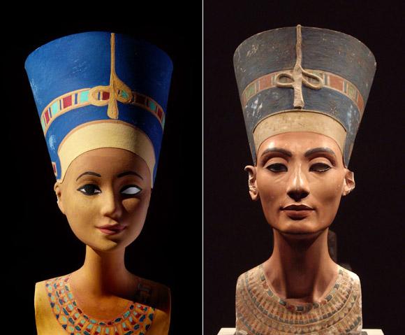 Jocelyne Grivaud, Nefertiti