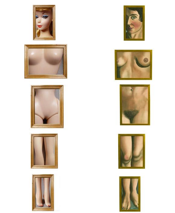 Jocelyne Grivaud, Eternal Evidence, Magritte inspired