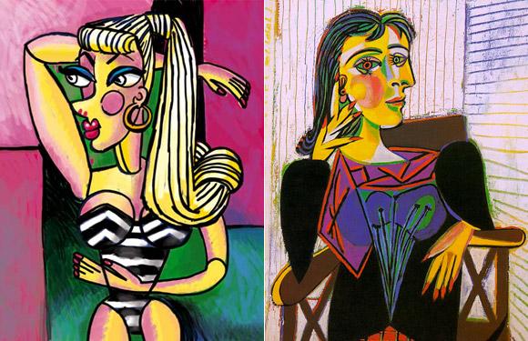 Jocelyne Grivaud, Dora Maar, Picasso inspired