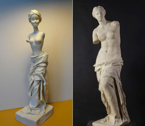 Jocelyne Grivaud, Venus de Milo