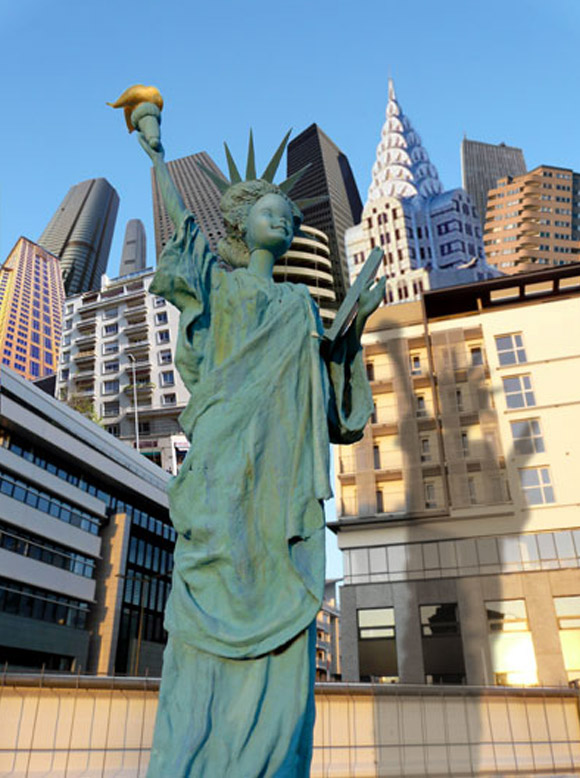 Jocelyne Grivaud, Statue of Liberty