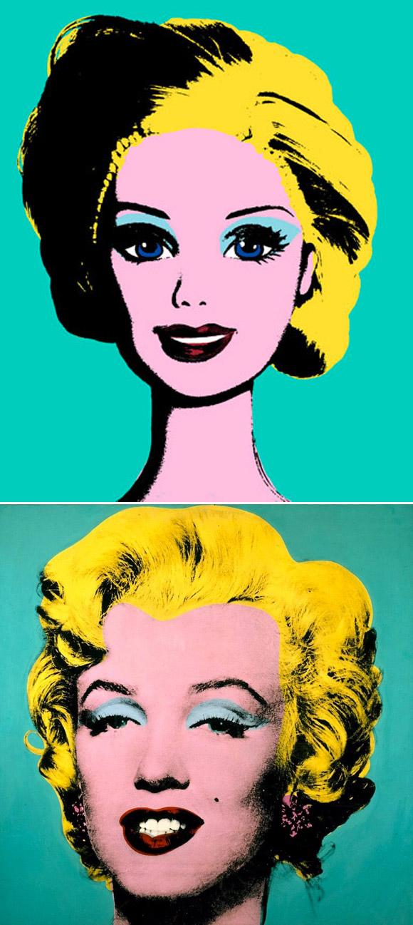 Jocelyne Grivaud, Andy Warhol inspired