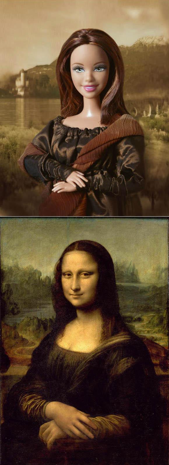 Jocelyne Grivaud, Mona Lisa La Gioconda, Leonardo Da Vinci inspired