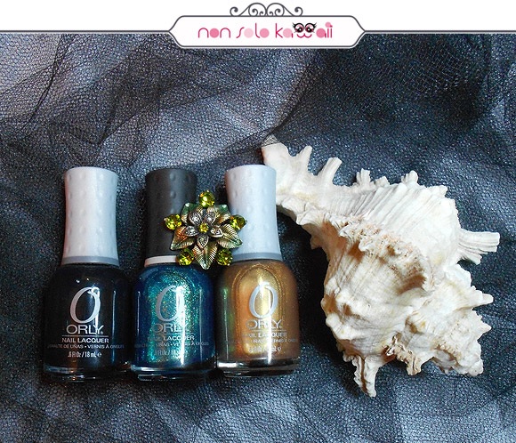 Le Chateau, Halleys Comet, Flare, Orly Naughty Or Nice