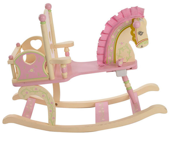 Levels of Discovery - Kiddie-Ups Rock-A-My-Baby Rocking Horse