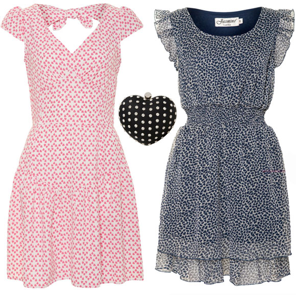 A|wear</a> - Heart Dresses & Bag