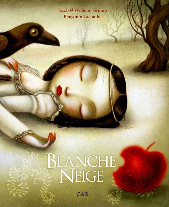 Blanche Neige - Benjamin Lacombe, Jacob & Wilhelm Grimm