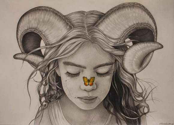 Alessia Iannetti, The Aries and the Butterfly