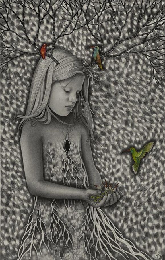 Alessia Iannetti, Bird-Nest Child
