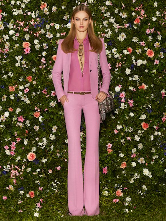 Gucci - Cruise Collection 2013, completo fucsia