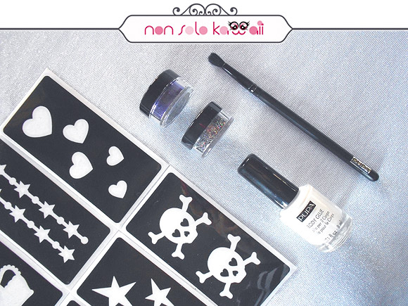 non solo Kawaii - Pupa Glittering Body Tattoo Kit