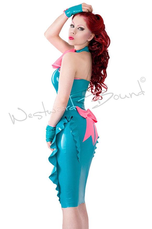 Westward Bound - Yum Yum Latex Skirt