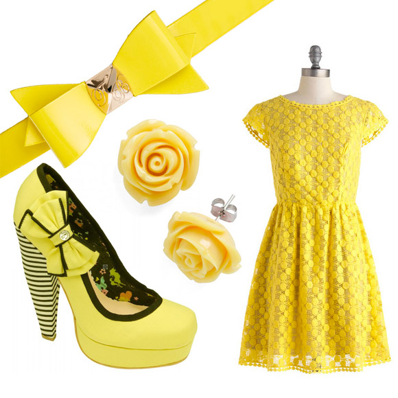 yellow fashion composite March 8, International Women's Day