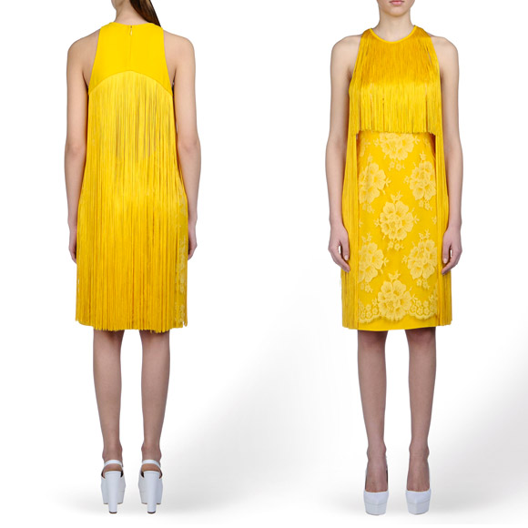yellow dress, Stella McCartney - Walker dress