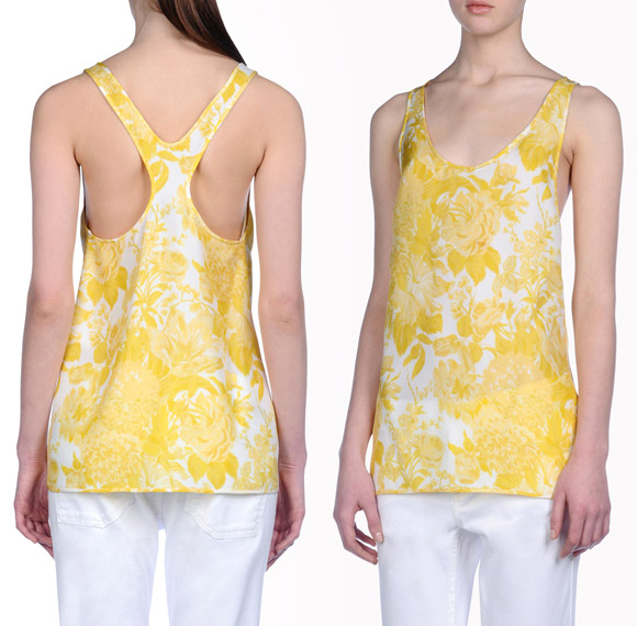Stella McCartney - Fawcett Toile De Jouy Top
