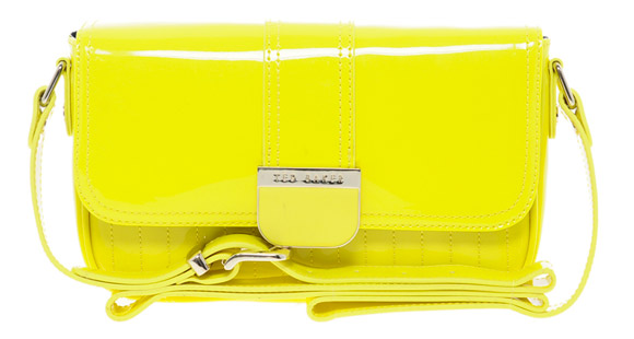 Ted Baker - Skapari Patent Crossbody yellow Bag