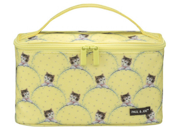 Paul & Joe - Cat Cosmetic Pouch yellow