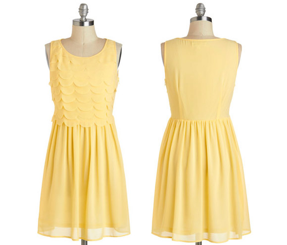 ModCloth - Goldi-frocks yellow Dress