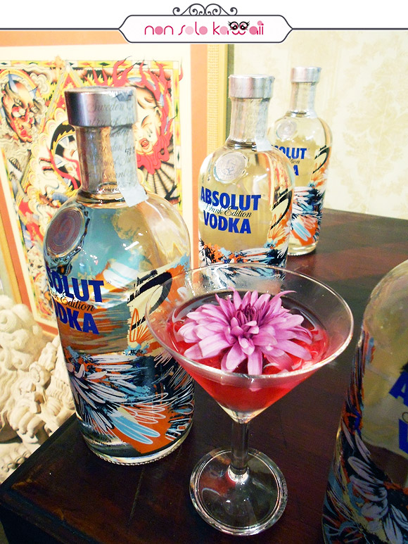 Absolut Blank Limited Edition by Dave Kinsey at Milano City Ink, absolut berry fox