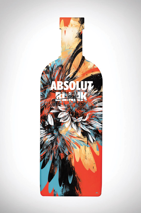 Absolut Blank Limited Edition by Dave Kinsey at Milano City Ink