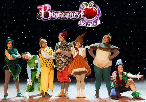 Biancaneve il musical a teatro