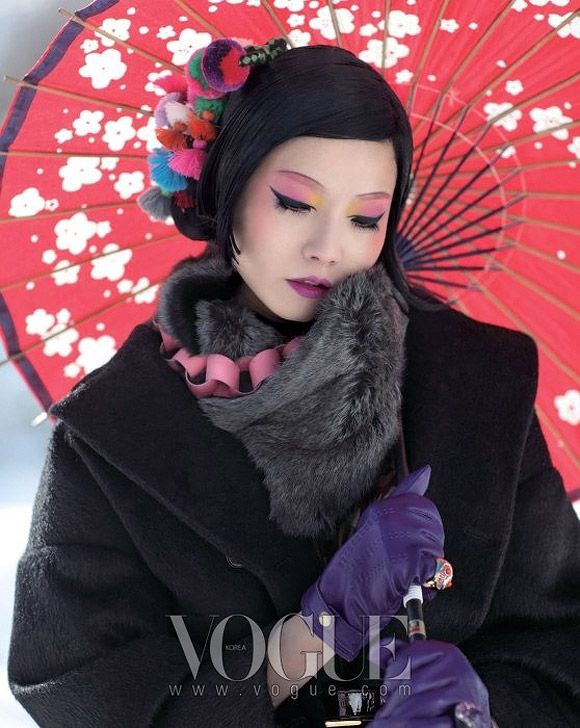 Jo Jung-han for Snowflakes, Vogue Korea