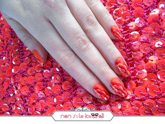 Ruches Manicure by non solo Kawaii for Grazia.it