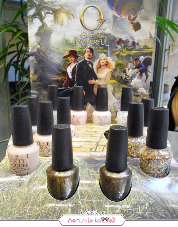 Oz the Great and Powerful OPI Nail Polish Collection