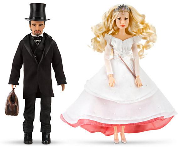 Disney Oz the Great and Powerful Oscar Diggs and Glinda Dolls, Bambole