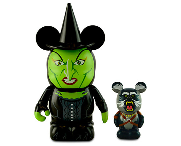 Disney Vinylmation Oz the Great and Powerful  Wicked Witch of the West & Flying Baboon Vinyl Toys