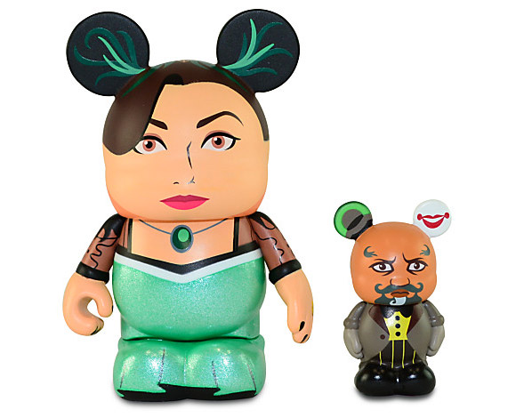 Disney Vinylmation Oz the Great and Powerful Evanora & Knuck Vinyl Toys