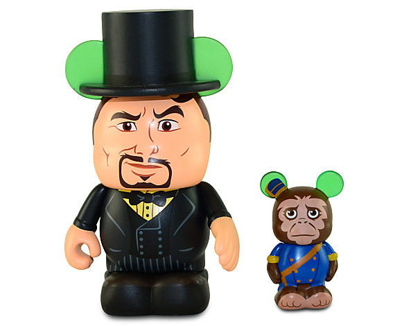 Disney Vinylmation Oz the Great and Powerful Oscar Diggs & Finley Vinyl Toys
