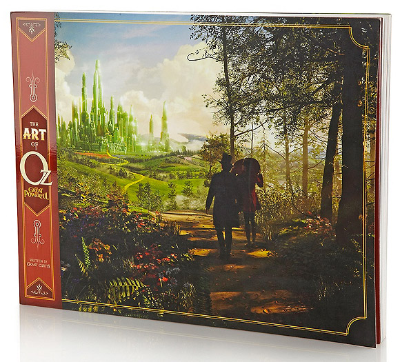 The Art of Oz the Great and Powerful Book Libro