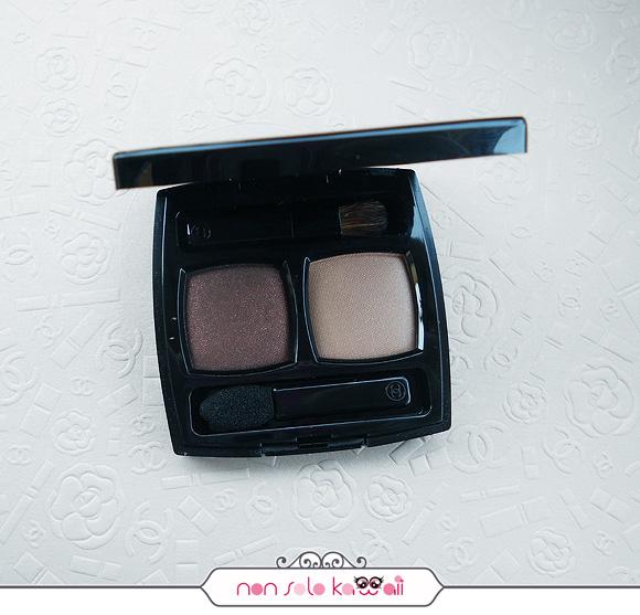 Ombres Contraste Duo 37 Sable - Emouvant, Printemps Précieux de Chanel