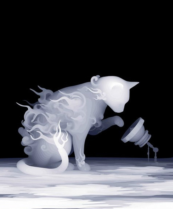 Kazuki Takamatsu, A Cat Shows Interest in the Information