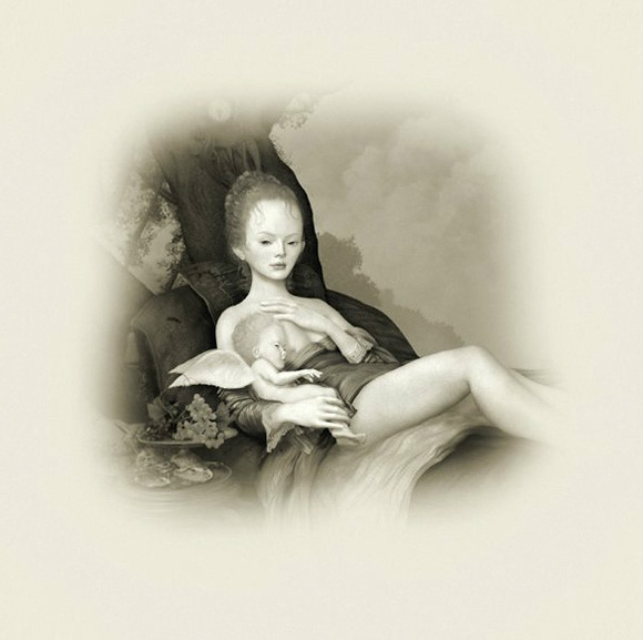 Ray Caesar, Mother and Child Study