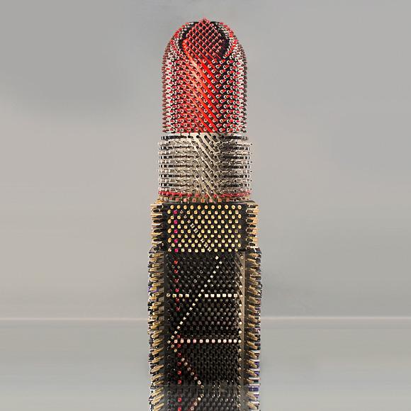 Agne Kisonaite - Giant Lipstick
