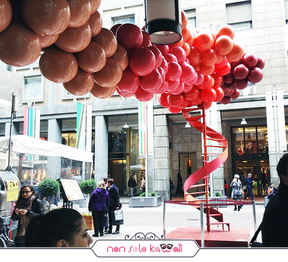 Studio S.M.og for Sephora - Bubble Cloud, Salone del Mobile 2013