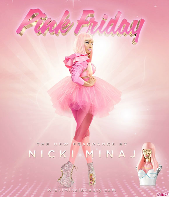 Celebrity Singers Perfumes, Nicki Minaj - Pink Friday